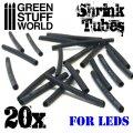 グリーンスタッフワールド[GSWD-88]LED接続チューブ(20個入り)