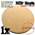 グリーンスタッフワールド[GSWD-9843] MDF丸型ベースセット (160mm) 1枚入