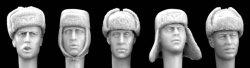画像1: Hornet[HGH12]独 WW2 冬季帽(5種)