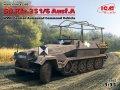 ICM[ICM35102] 1/35 ドイツ Sd.Kfz.251/6 Ausf.A 装甲指揮車