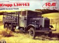 ICM[ICM35461] 1/35 独・クルップL3H163カーゴ6輪トラック