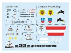 画像2: イタレリ[IT2808] 1/48 オペルブリッツ 燃料補給車 Kfz.385