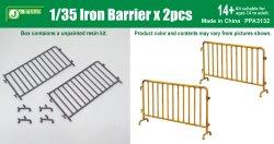 画像1: J's Work[PPA3132]1/35 Iron Barrier (2pcs)