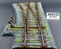 JOEFIX[JF305]1/35 鉄道待避線(右曲がり)セット