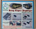 KAIZEN[Kz-KT-JAGD]1/35 ティーガーII/ヤークトティーガー用連結可動履帯(9枚歯用)(タミヤ用)