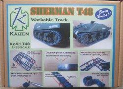 画像1: KAIZEN[Kz-SH-T48]1/35  M4 シャーマン T48 連結可動履帯