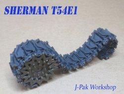 画像2: KAIZEN[Kz-SH-T54E1]1/35  M4 シャーマン T54E1 連結可動履帯