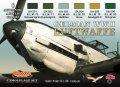 ライフカラー[CS-06]WWII ドイツ空軍機カラーセット set1
