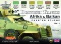ライフカラー[CS-43]WWII イギリス陸軍車両カモフラージュセット北アフリカ戦線及びバルカン半島戦域