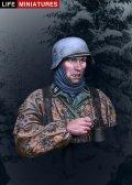 ライフミニチュア[LM-B004] 1/10 武装SS 擲弾兵 アルデンヌ1944年