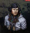 ライフミニチュア[LM-B017] 1/10 防寒着姿の重戦車長 ハンガリー1944年