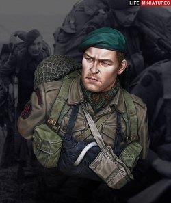 画像1: ライフミニチュア[LM-B022] 1/10 イギリス陸軍上陸コマンド Dデイ1944年