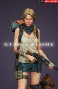 ライフミニチュア[LM-FUS003]1/20 スタンドアローン 孤高の女戦士 90mmフィギュア
