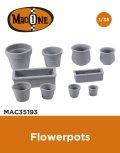 MacOne Models[MAC35193]1/35 ジオラマアクセサリー 植木鉢