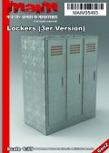 マイム[MAIM35493 ]Lockers (3er Version) / Spinde / 1:35