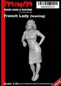 マイム[MAiM35519]French Lady leaning / 1:35
