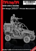 マイム[MAIM35556]ATV Ranger Polariz MRZR 2 Military Version + Privat Mercenaries