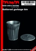 マイム[MAIM35565]Battered garbage bin / 1:35