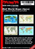 マイム[MAIM35582]Wall World Maps / 1:32 - 1:35