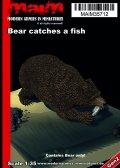 マイム[MAIM35712]Bear catches a fish / 1:35