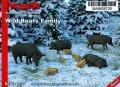 マイム[MAIM35720]Wild Boars Family / 1:35