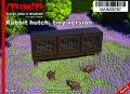 マイム[MAIM35787]Rabbit hutch, tiny Version / 1:35