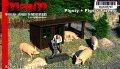 マイム[MAIM35793]Pigsty + Farmer + Pigs / 1:35