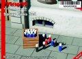 マイム[MAIM35806]Wooden Box with Spray Cans / 1:35