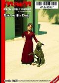 マイム[MAIM35807]Girl with Dog / 1:35