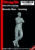 マイム[MAIM35536]Muscle Man leaning / 1:35