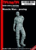 マイム[MAIM35538]Muscle Man posing / 1:35