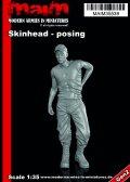 マイム[MAIM35539]Skinhead with Cap posing / 1:35