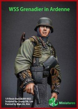 画像1: MJ Miniatures[MJ09-002]1/9 武装親衛隊擲弾兵 アルデンヌ