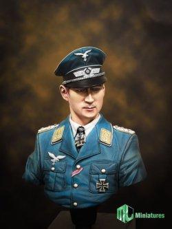 """画像2: MJ Miniatures[MJ10-007]1/10 ドイツ空軍エース""""ヴェルナー・メルダース"""""""