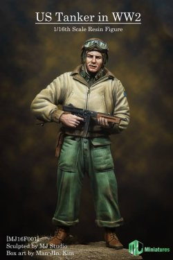 画像2: MJ Miniatures[MJ16F001]1/16 WWII米 戦車兵