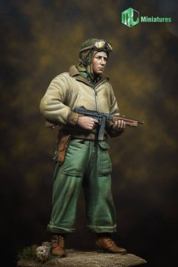 画像1: MJ Miniatures[MJ16F001]1/16 WWII米 戦車兵