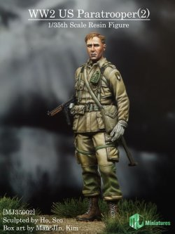 画像1: MJ Miniatures[MJ35002]1/35 WWII 米 空挺兵 (2)