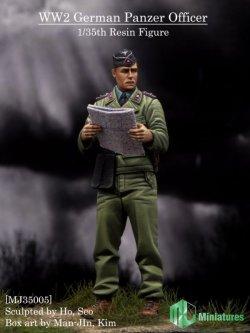 画像1: MJ Miniatures[MJ35005]1/35 WWII独 戦車部隊将校