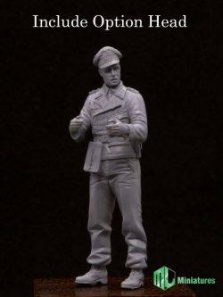 画像2: MJ Miniatures[MJ35005]1/35 WWII独 戦車部隊将校