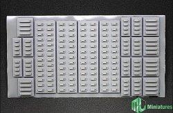 画像1: MJ Miniatures[MJEZ35001]1/35 WWII ドイツ軍OVMクランプツールセット