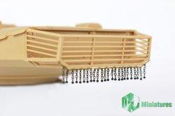 画像2: MJ Miniatures[MJEZ35008]1/35 現用  イスラエル国防軍主力戦車メルカバシリーズ チェーンカーテン