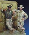 マンティス・ミニチュアズ[Man35034]U.S 現用AFV クルーセット(2体)