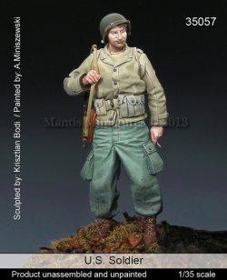 画像1: マンティス・ミニチュアズ[Man35057]1/35 WWII米 歩兵