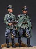 マンティス・ミニチュアズ[Man35070]1/35 WWII独 国防軍将校(2体セット)