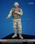 マンティス・ミニチュアズ[Man35103]1/35 現用ポーランド兵 #2 APCコマンダー