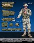 マンティス・ミニチュアズ[Man35105]1/35 ロソマク装甲車コマンダー&車載品セット