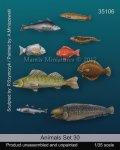 マンティス・ミニチュアズ[Man35106]1/35 動物セット30 海の魚2