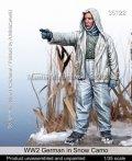 マンティス・ミニチュアズ[Man35122]1/35 WWII 独 ドイツ陸軍 冬季迷彩の防寒服を着た兵士
