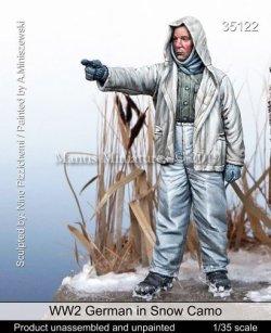 画像1: マンティス・ミニチュアズ[Man35122]1/35 WWII 独 ドイツ陸軍 冬季迷彩の防寒服を着た兵士