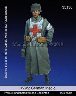 画像1: マンティス・ミニチュアズ[Man35130]1/35 WWII 独 ドイツ陸軍衛生兵